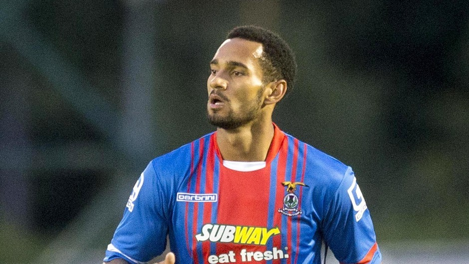Jordan Roberts has suffered injury problems in his first season with Inverness.
