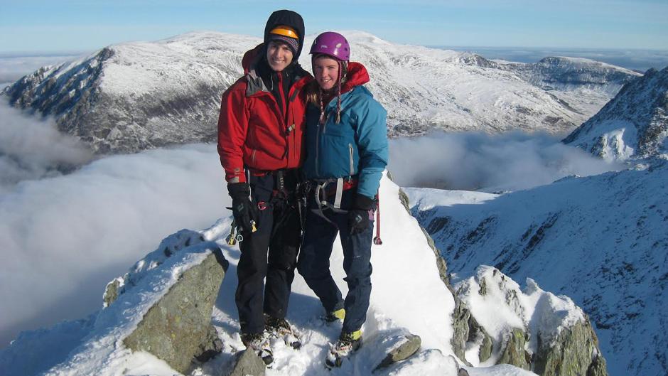 Missing climbers Tim Newton and Rachel Slater