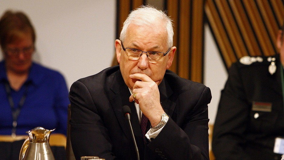 Andrew Flanagan, chairman of the Scottish Police Authority