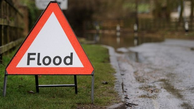 Four flood alerts have been issued by SEPA.