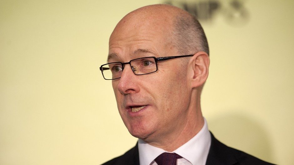 John Swinney said Labour's policy would hit low-paid workers