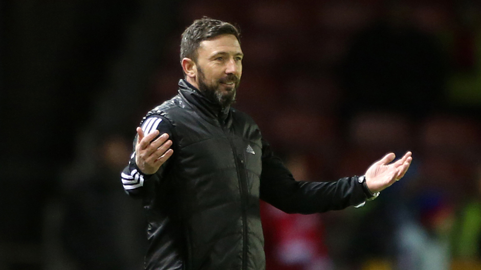 Aberdeen manager Derek McInnes is backing his players to improve