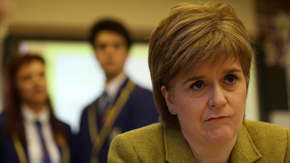 Nicola Sturgeon insisted local authorities were being given a 'good deal' as part of the budget
