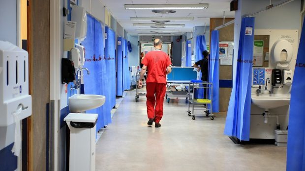 A winter rise in Covid-19 cases has seen operations cancelled  in Grampian and the Highlands and Islands.