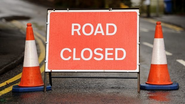 Park Bridge is closed due to safety concerns