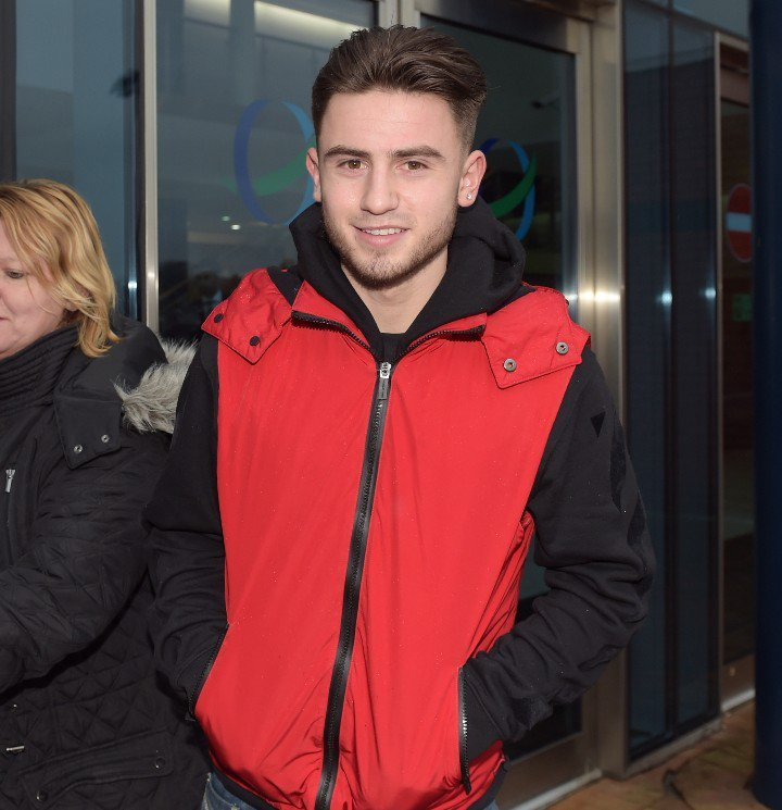 Patrick Roberts at Hampden yesterday to watch Celtic against Ross County ahead of his move to Parkhead
