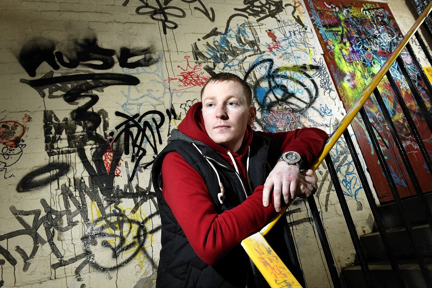 Peter Macleod says rapping has saved his life