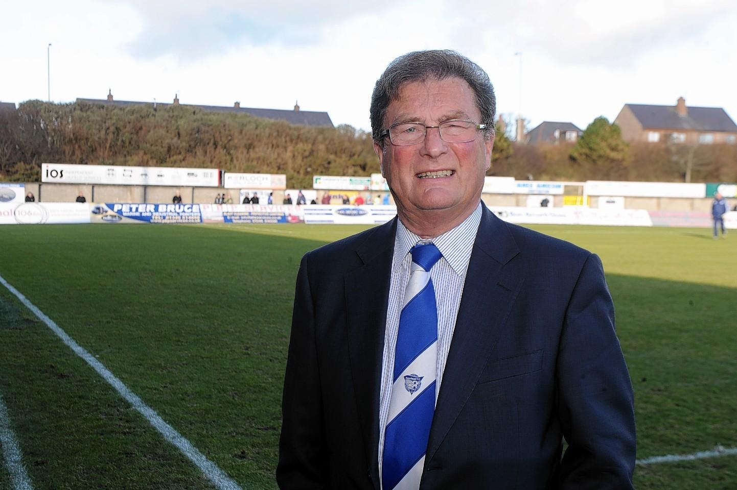 Peterhead chairman, Rodger Morrison.
