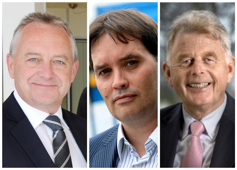 Mike Gough, Ian Suttie and Calum Melville