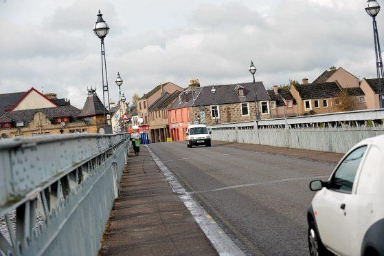 Waterloo Bridge in Inverness