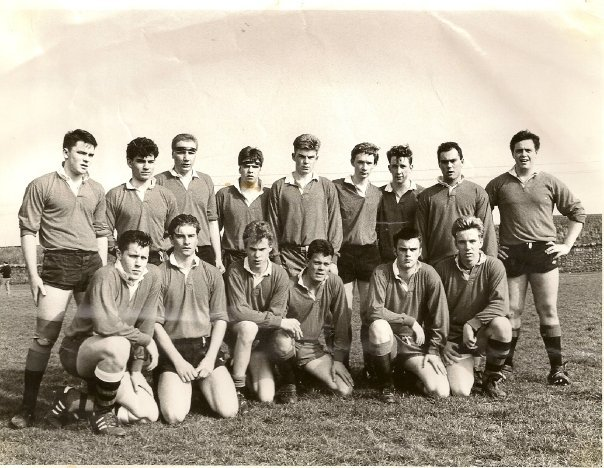 Richard Casher of Stonehaven, pictured in the front row, third from the right