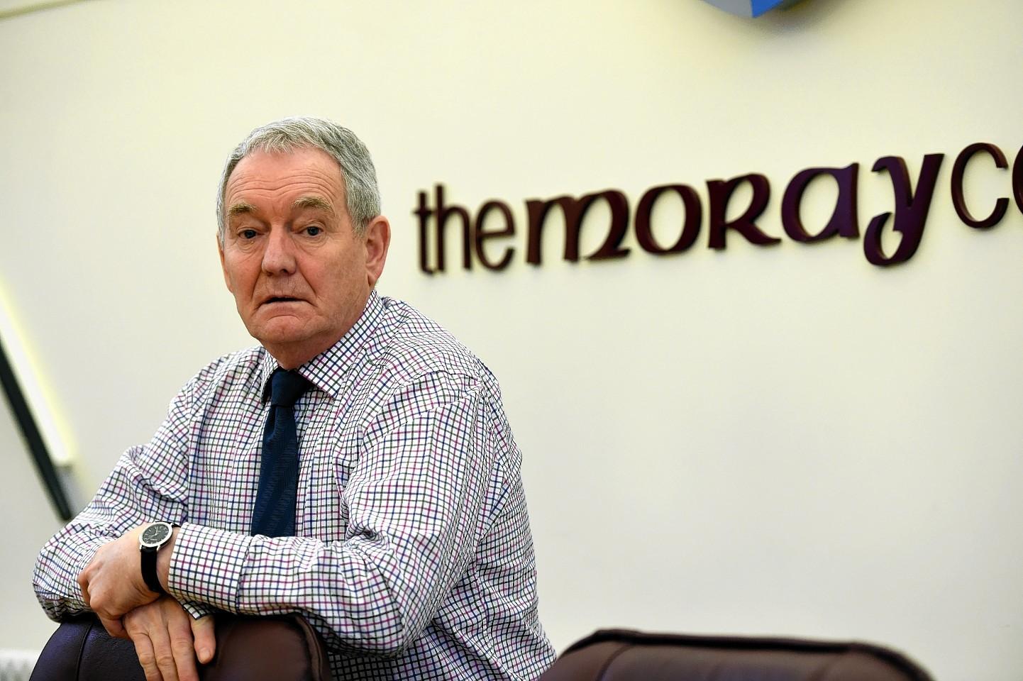Moray Council Convenor, Allan Wright