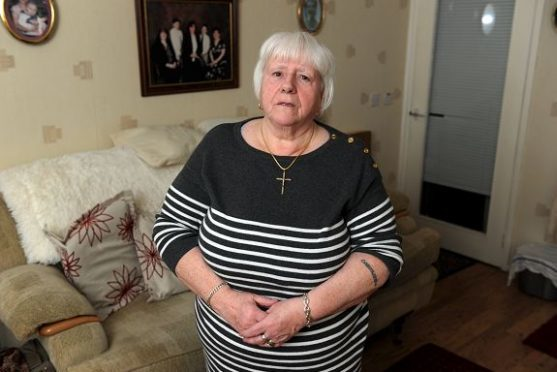 Caroline Beveridge said she nearly collapsed when she heard her sons had been attacked. (Picture: Kenny Elrick)