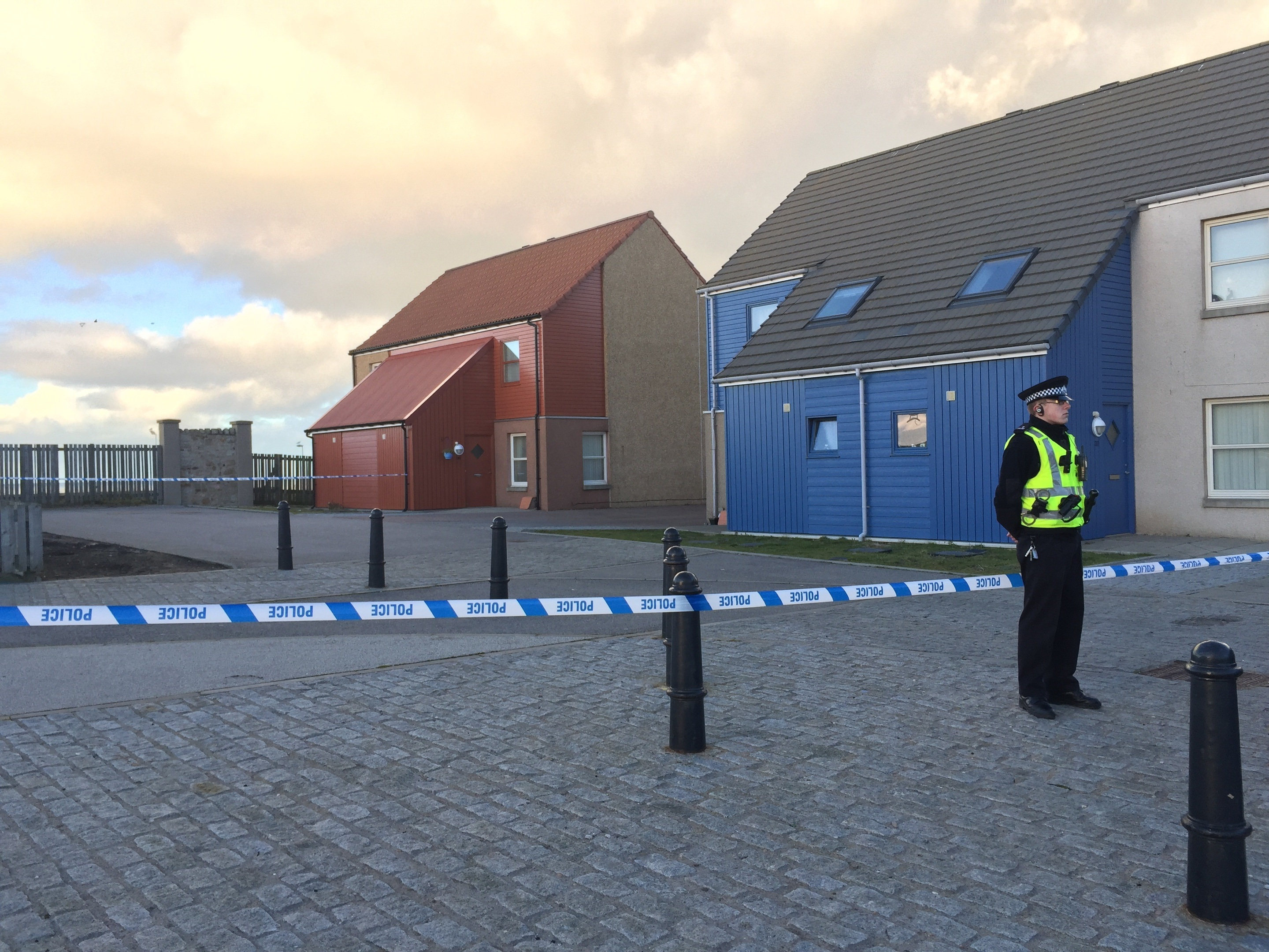 An investigation is under way after a man's body was discovered in a Fraserburgh property