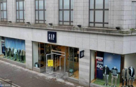 The former Gap store in Aberdeen