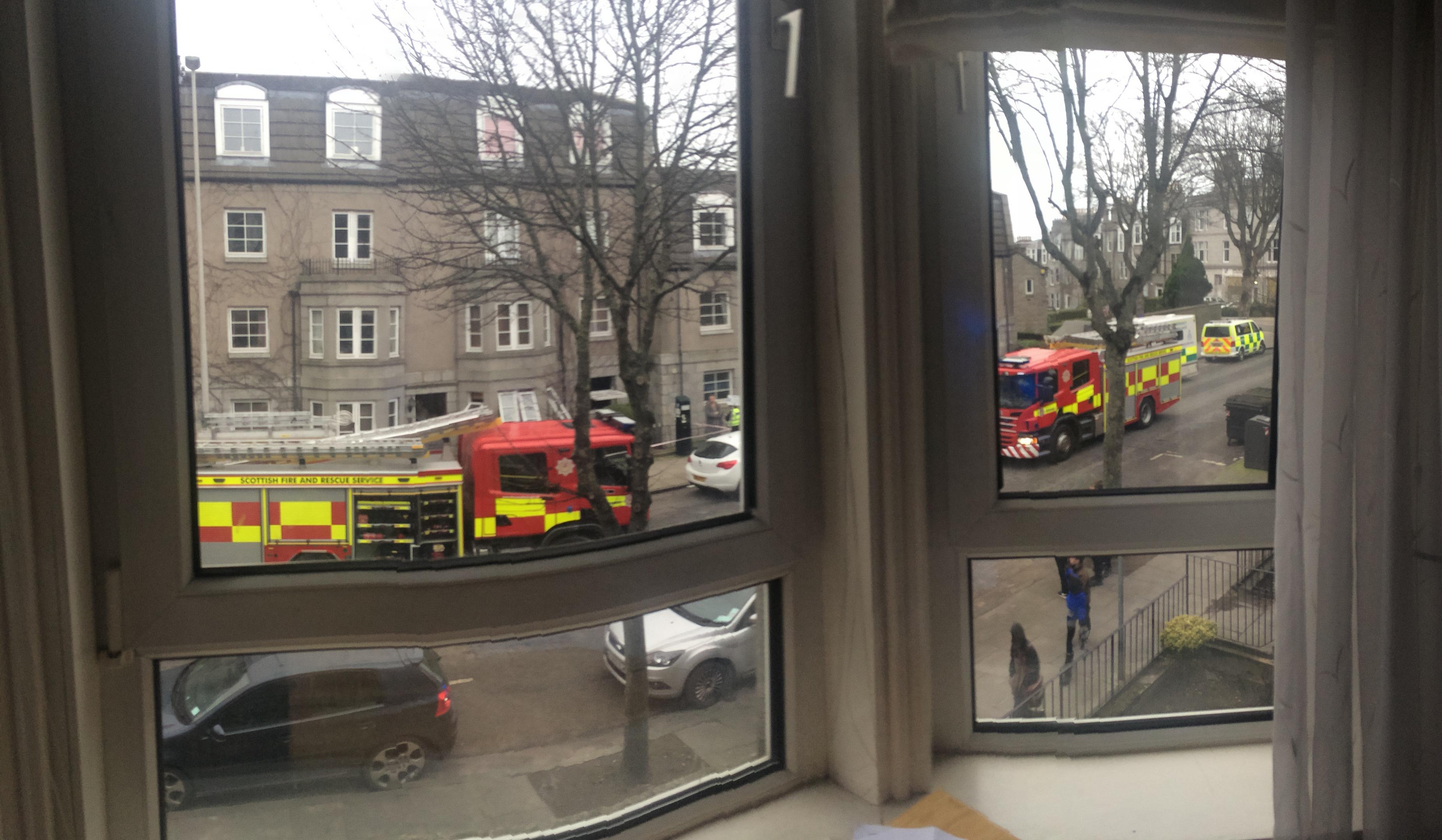 Ferryhill flat fire