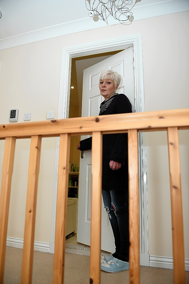 Kate Cutajar, where her daughter was having a shower when the house was broken into