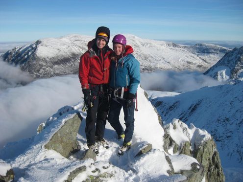 Tragic climbers Tim Newton and Rachel Slater