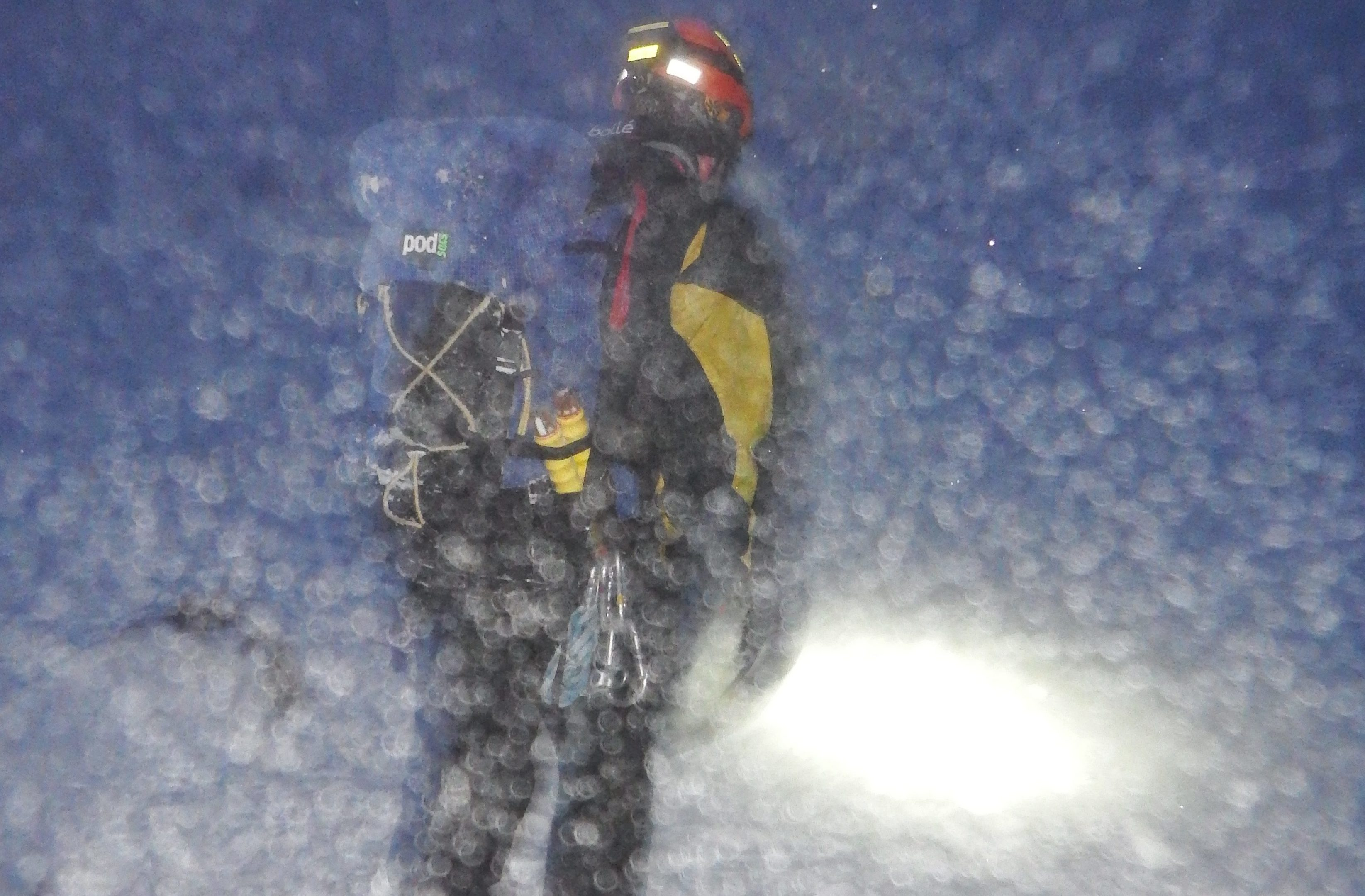 Cairngorms Mountain Rescue team in action