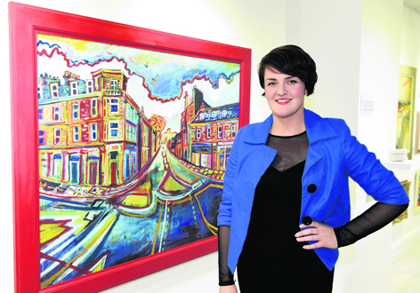 Gallery owner Shelagh Swanson