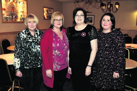 Kathleen Milne, Katrina Cheyne, Gillian Lawie and Brigitte Van Rooyen