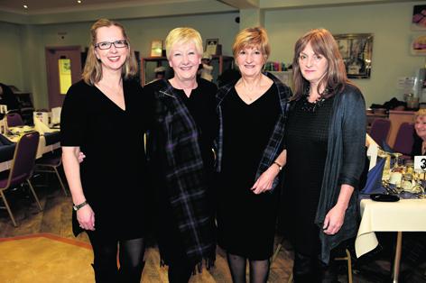 Sarah Robinson, Trisha Wright, Judith Bean and Wilma Geddes