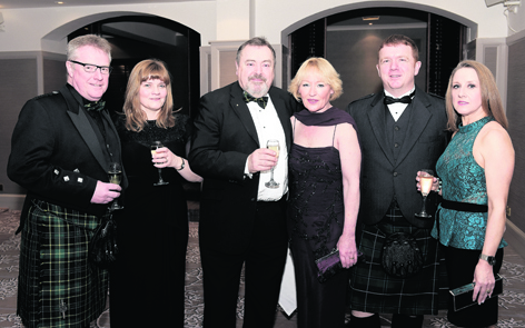 Scott and Alison Jackson with Tom and Carean Clarke, and Alan and Marie Anne Proctor