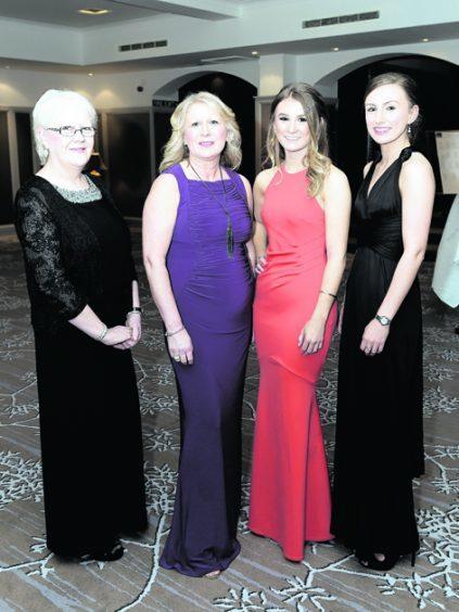 Pauline Sutherland, Linda McWilliam, Fiona McWilliam and Kirsten McWilliam