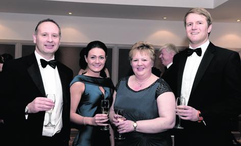 Stuart Brown, Katie McLaughlin, Morag Brown and Craig Moor