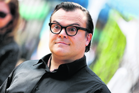 Jack Black hopes the new Goosebumps movie adaptation will send shivers down your spine  –  as well as making you laugh