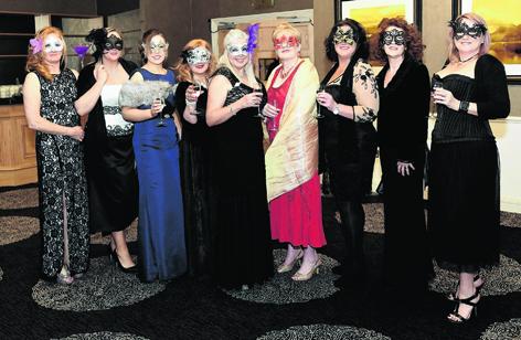 Sandi Elliot, Sherrel Innes, Ruth Watson, Maggie Blyth, Jillian Walker, Roseanne MacKay, Debbie Morran, Dawn MacKay and Angela Wilson
