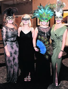 Christina Smith, Amy Morrison, Fiona Armstrong and Fiona Cruickshank