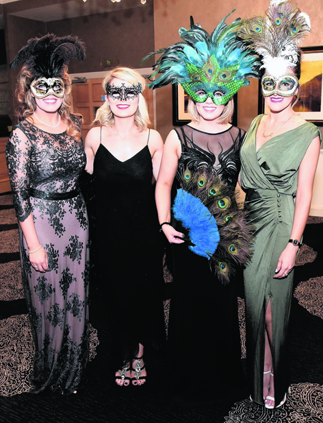 Christina Smith, Amy Morrison, Fiona Armstrong and Fiona Cruickshank