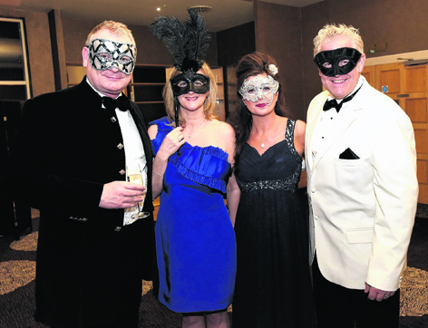 Michael and Tracey Hartlay with Denise and Mark Wilson