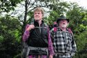 Robert Redford, left, and Nick Nolte in A Walk In The Woods
