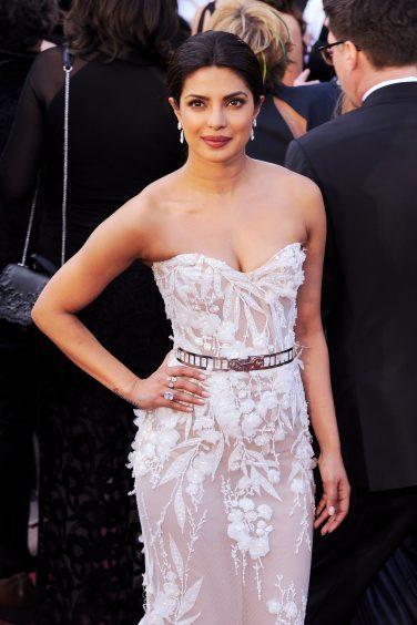 Priyanka Chopra at the Academy Awards in Los Angeles