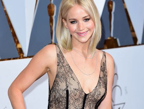 Jennifer Lawrence at the 88th Academy Awards