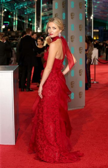 Annabelle Wallis at the EE British Academy Film Awards