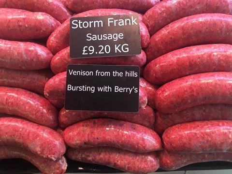 Storm Frank Sausage