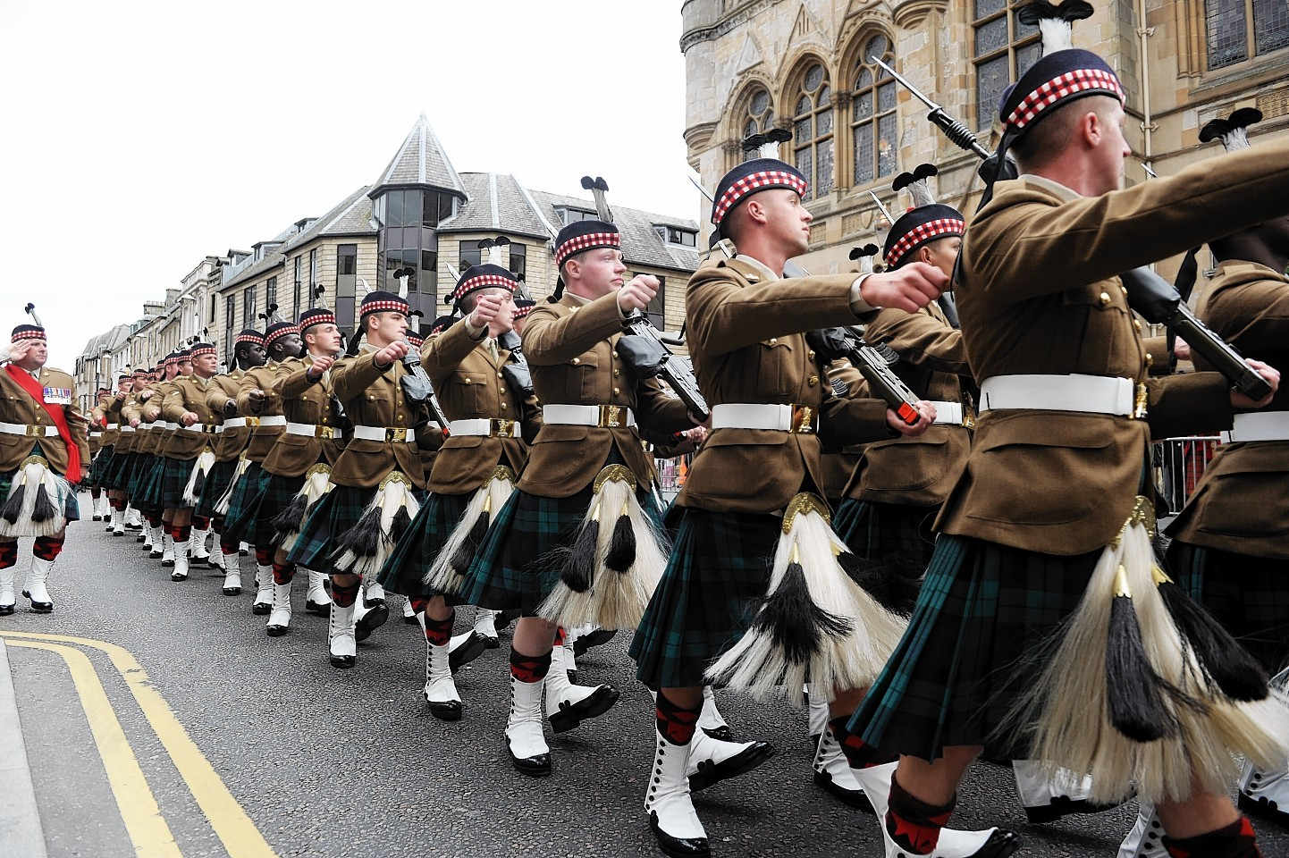 The traditional Inverness Armed Forces Parade was replaced in 2016 with other events to showcase local military heroes.