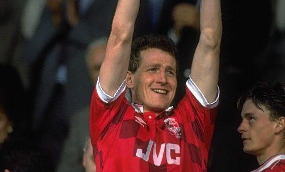 Aberdeen defender Brian Irvine.
