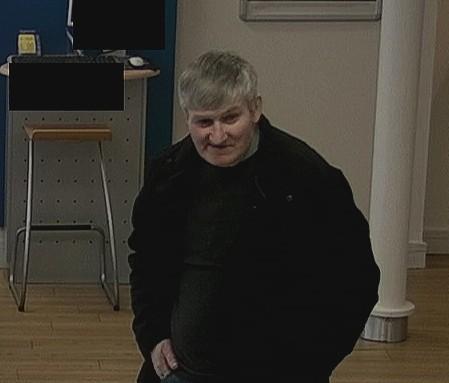 Last known CCTV image of Brian McKandie