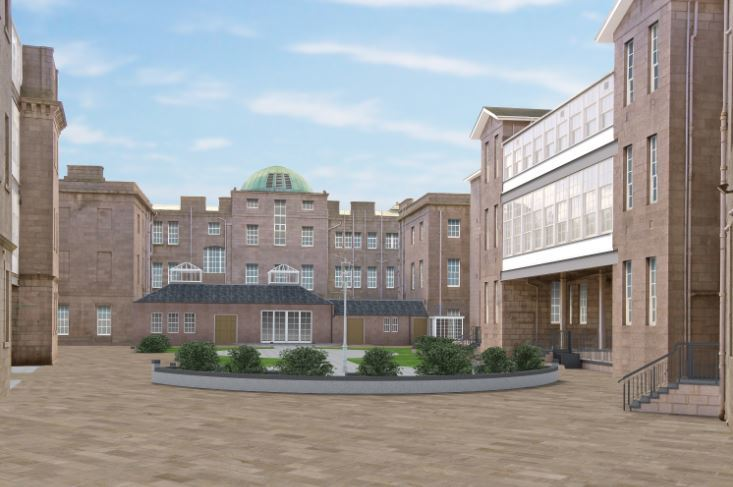 How the new Woolmanhill site could look