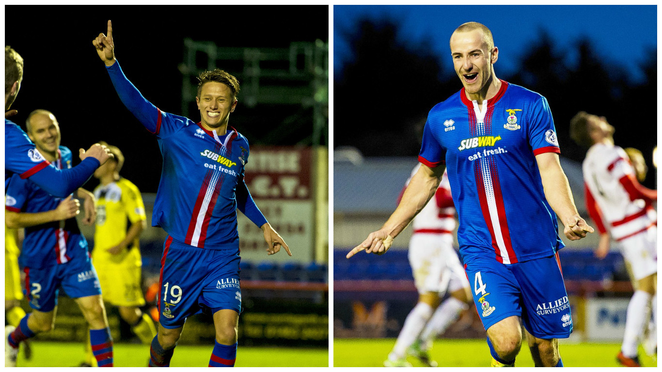 Danny Williams and James Vincent will both join Dundee at the end of the season