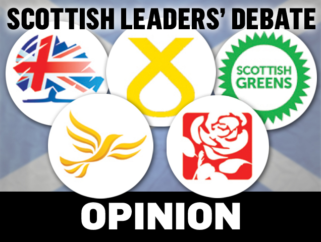 The party leaders clashed on STV tonight