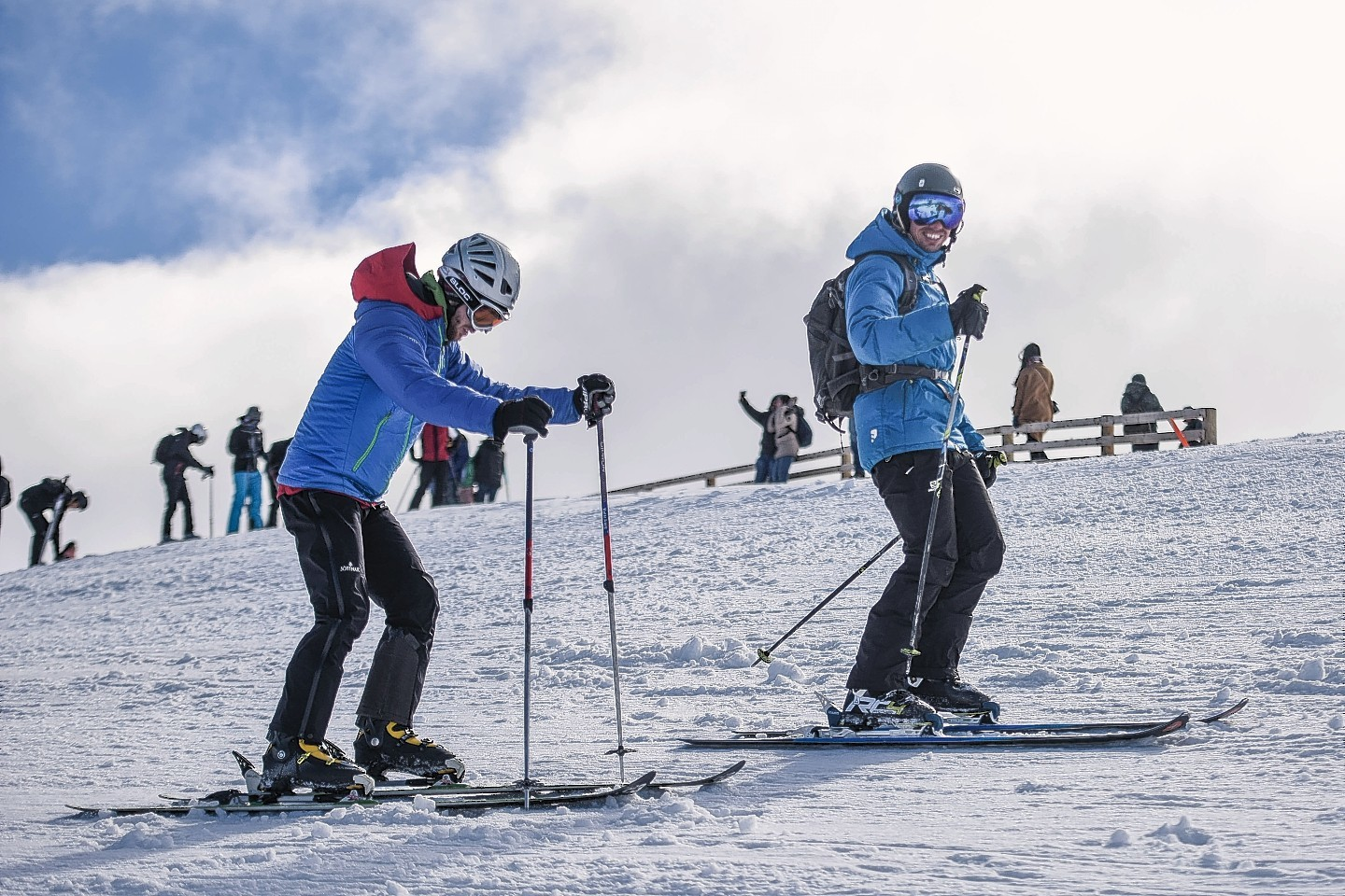 Easter skiing on the Cairngorms