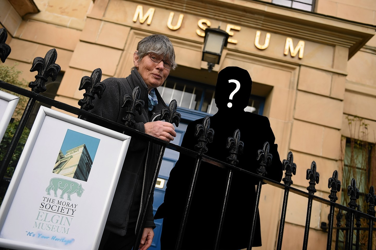 Who is Elgin Museum's mystery benefactor?