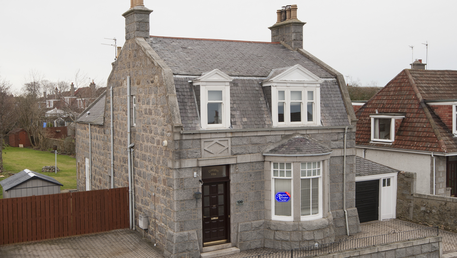 It's not often a house in Aberdeen's prestigious west end pops up on the leasing market.