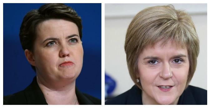 Ruth Davidson and Nicola Sturgeon led the calls
