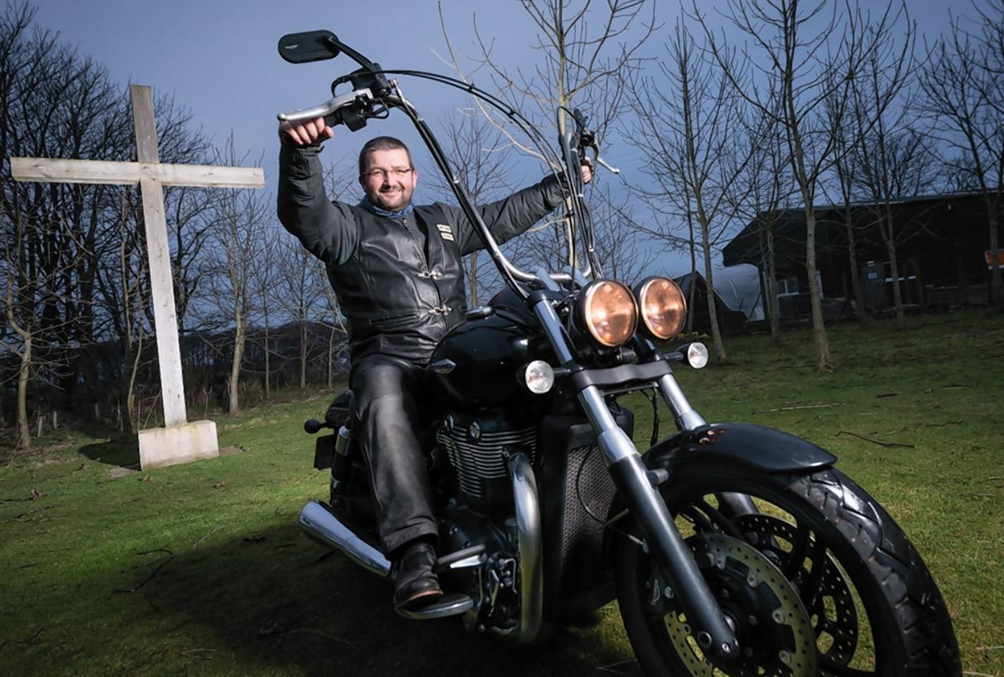 Gordon Cruden from Teen Challenge North East Scotland
